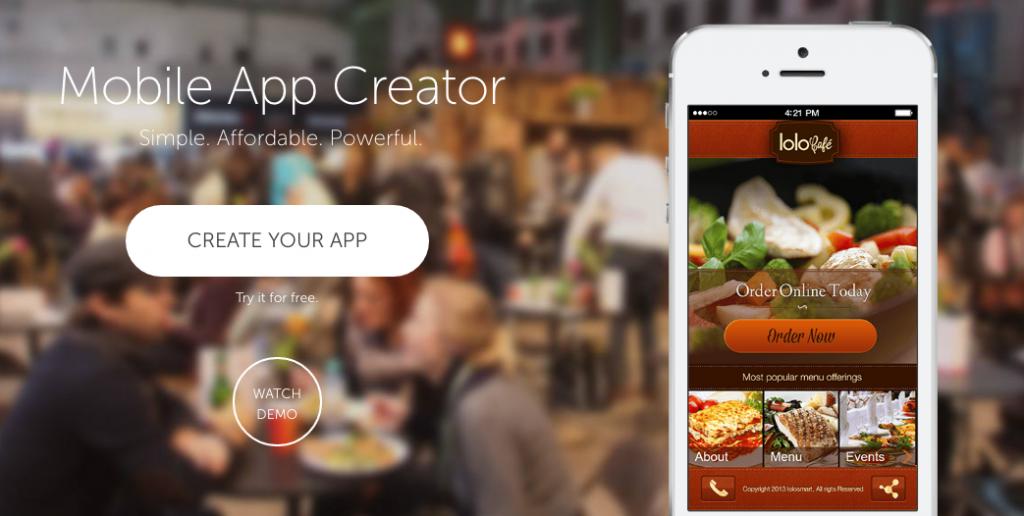 creare app senza programmare